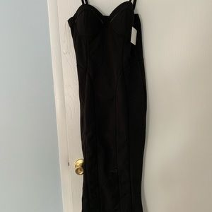 NWT jluxe label midi sweetheart size med